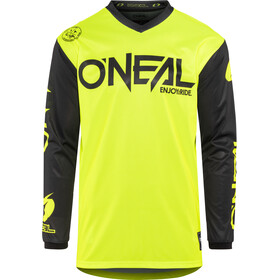 ONeal Threat Koszulka kolarska, długi rękaw Mężczyźni, RIDER neon yellow
